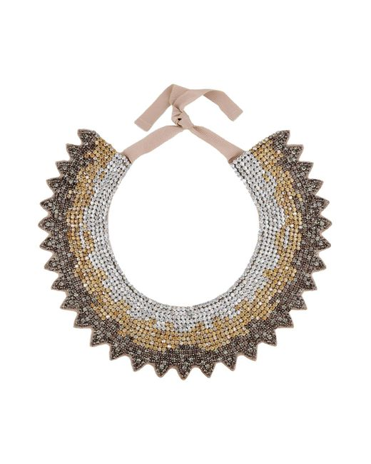 Valentino | Metallic Necklace | Lyst