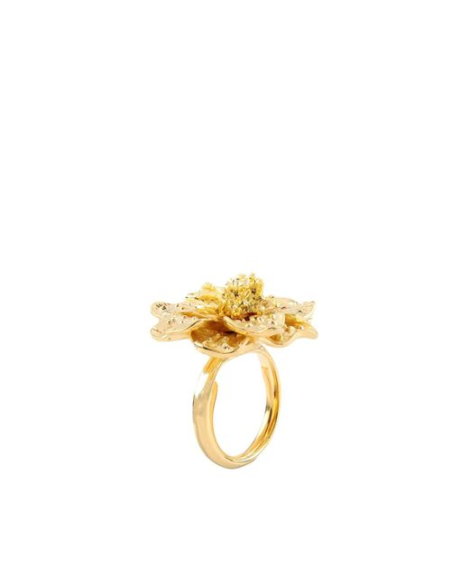 Kenneth Jay Lane   Metallic Ring   Lyst