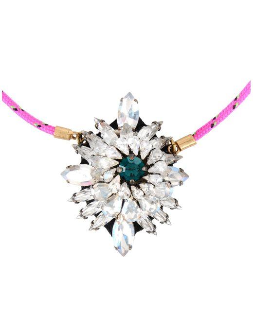 Shourouk   Metallic Necklace   Lyst