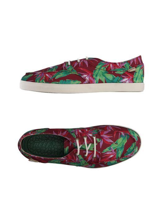 Reef | Green Low-tops & Sneakers | Lyst