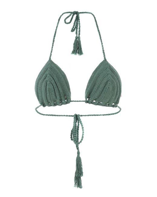 Anna Kosturova - Green Bikini Tops - Lyst