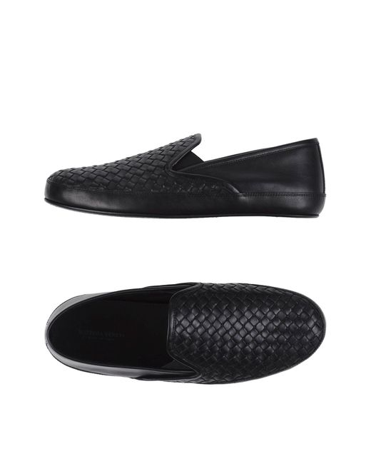 Bottega Veneta   Black Loafer for Men   Lyst