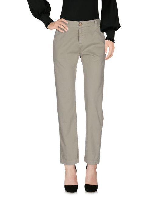 Current/Elliott - Green Casual Pants - Lyst
