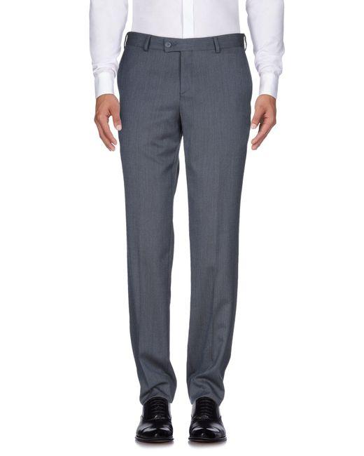 Fella Blue Casual Pants for men