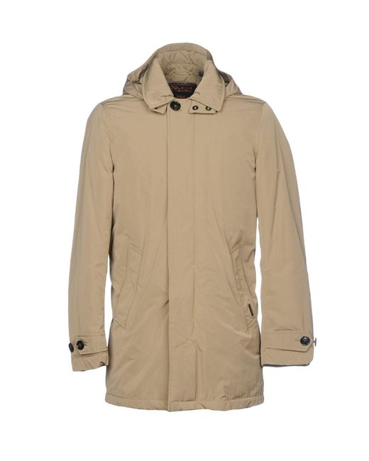 Woolrich - Natural Down Jacket for Men - Lyst