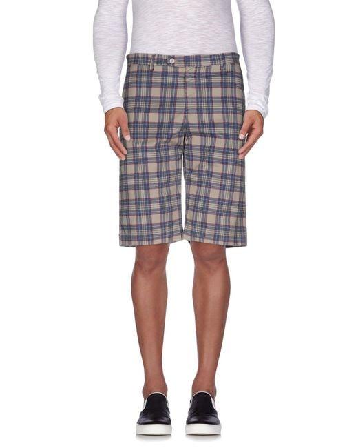 Officina 36 - Multicolor Bermuda Shorts for Men - Lyst