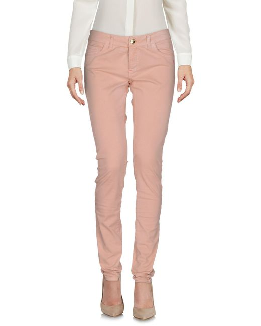 Scee By Twin-set - Pink Casual Trouser - Lyst