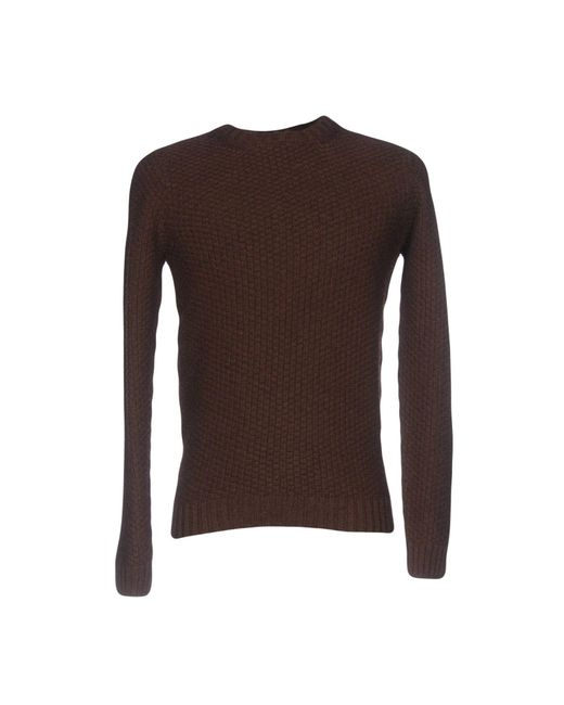 Drumohr - Brown Sweater for Men - Lyst