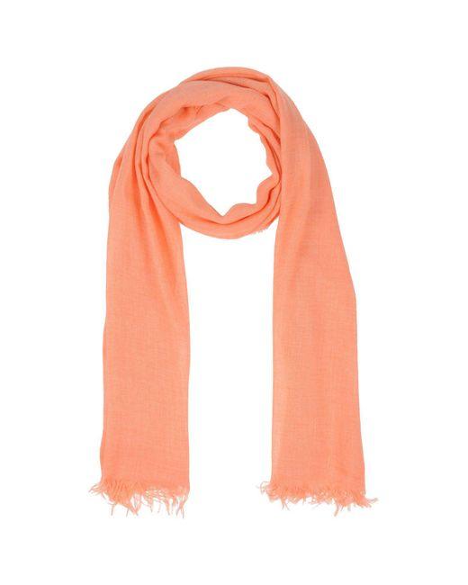 Altea - Pink Oblong Scarves for Men - Lyst