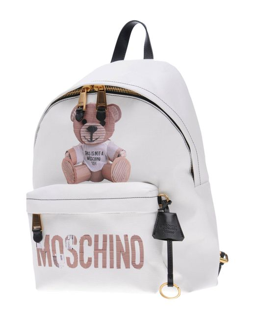 Moschino - White Backpacks & Fanny Packs - Lyst