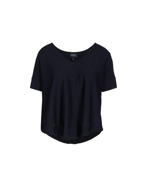 Armani Jeans - Blue Jumper - Lyst