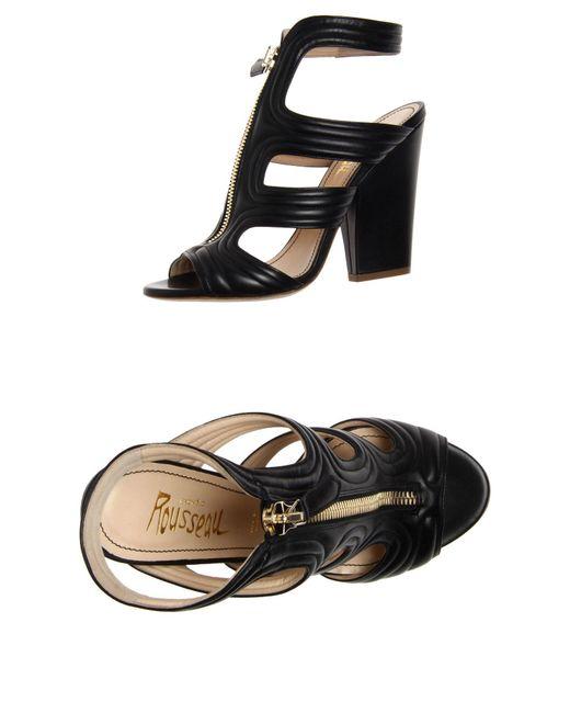 Jerome C. Rousseau | Black Sandals | Lyst