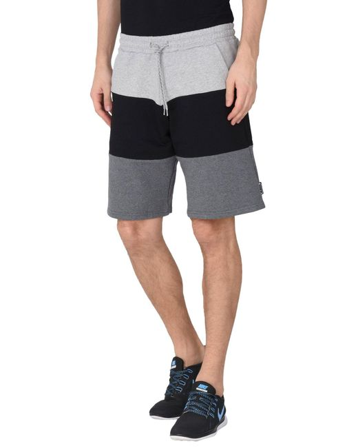 Iuter - Black Bermuda Shorts for Men - Lyst
