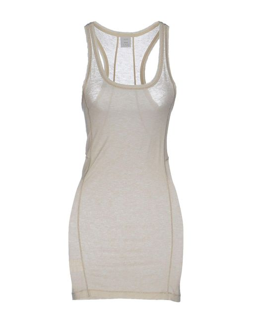Pinko - Natural Tank Tops - Lyst