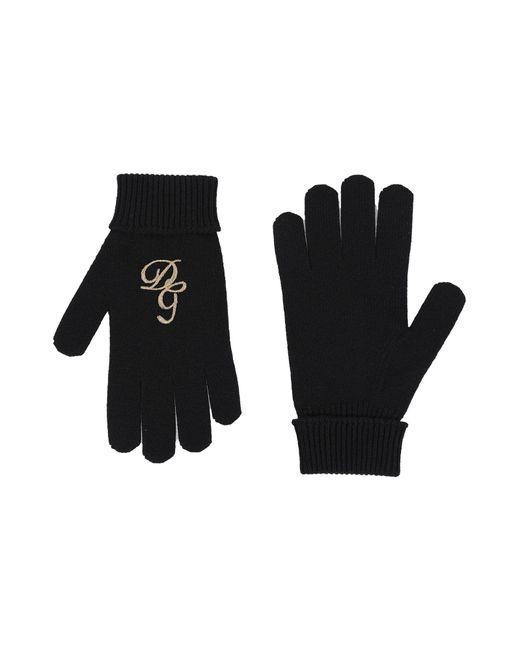 Gants Dolce & Gabbana pour homme en coloris Black