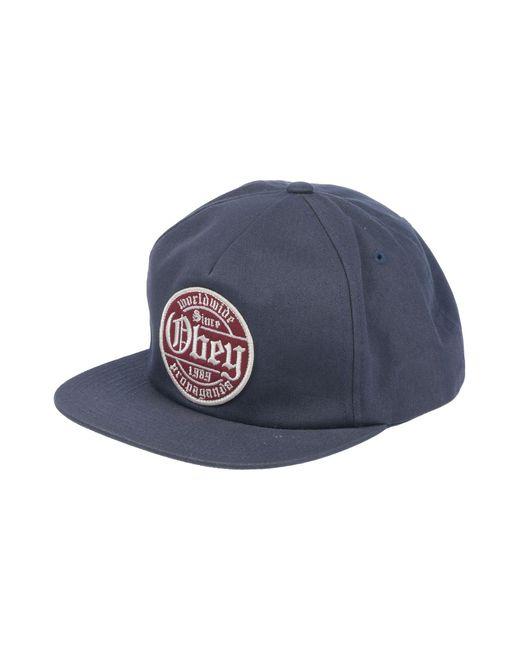 Obey - Blue Hat for Men - Lyst