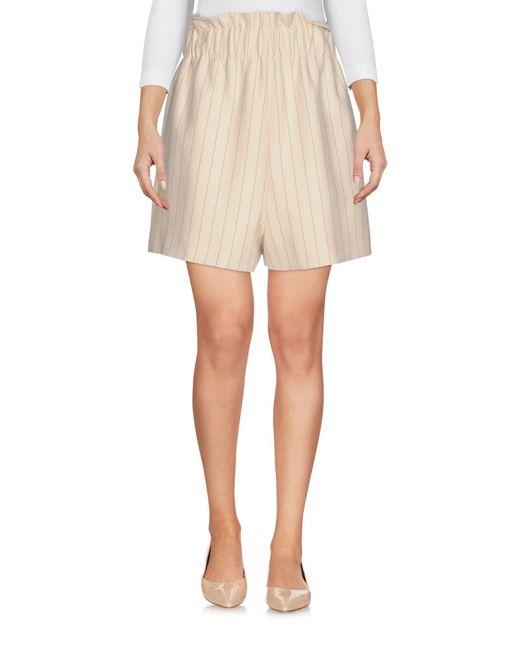 Ganni - White Shorts - Lyst