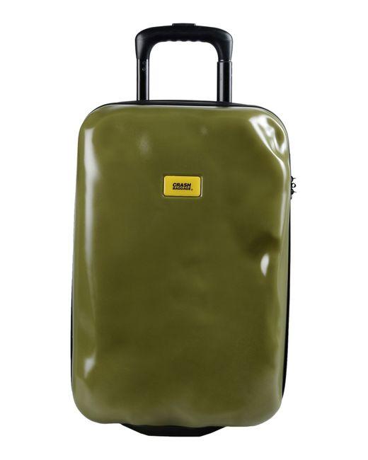 Crash Baggage | Green Wheeled Luggage | Lyst