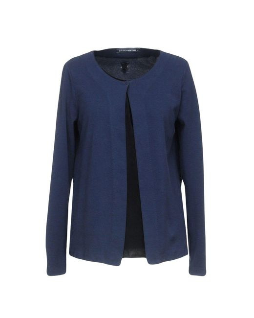 European Culture - Blue Sweatshirt - Lyst