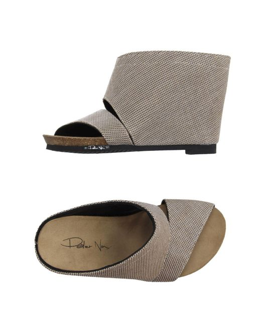 Peter Non - Natural Sandals - Lyst