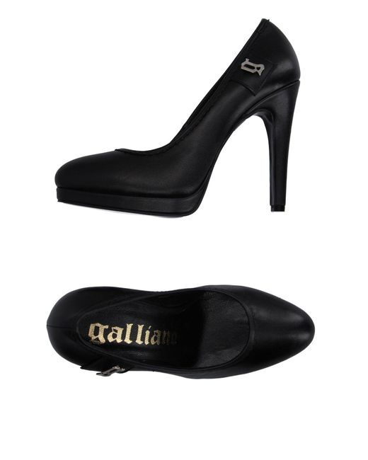 John Galliano | Black Court | Lyst