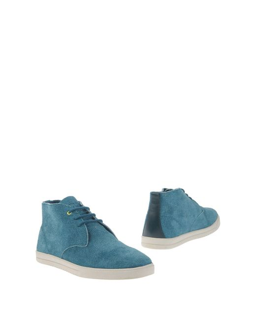 CLAE | Blue Ankle Boots for Men | Lyst