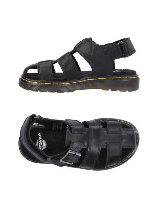 Dr. Martens - Black Sandals for Men - Lyst