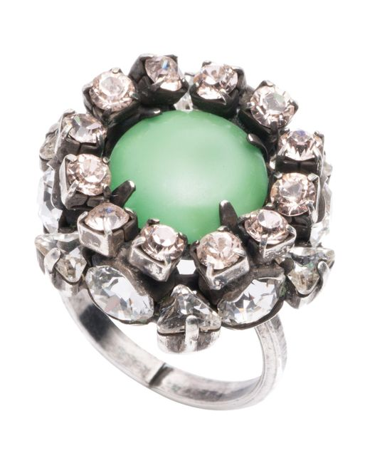 DANNIJO - Green Ring - Lyst