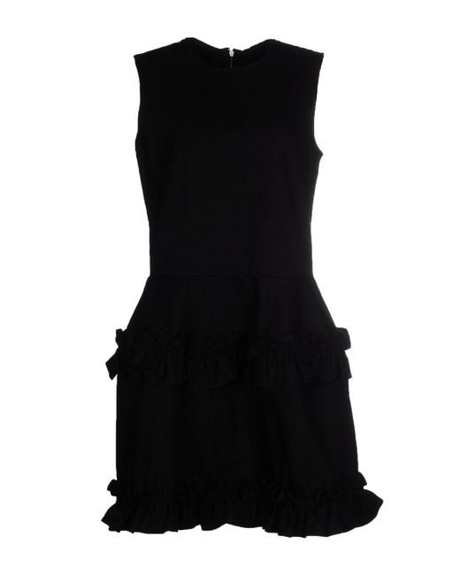 Simone Rocha Black Short Dress