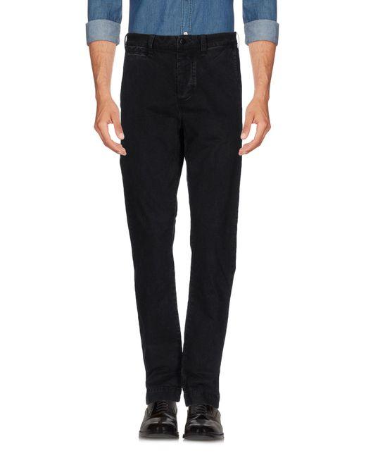 Denim & Supply Ralph Lauren - Black Casual Trouser for Men - Lyst