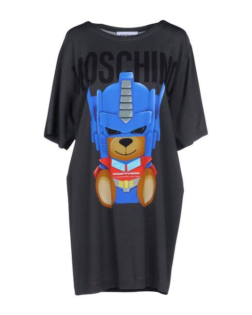 Moschino - Black Short Dresses - Lyst