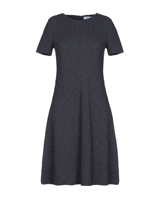 Harris Wharf London - Blue Short Dress - Lyst