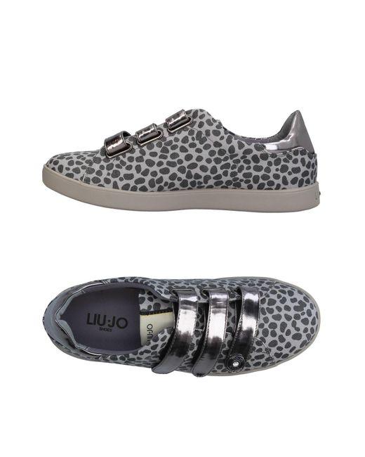 Liu Jo - Gray Low-tops & Sneakers - Lyst