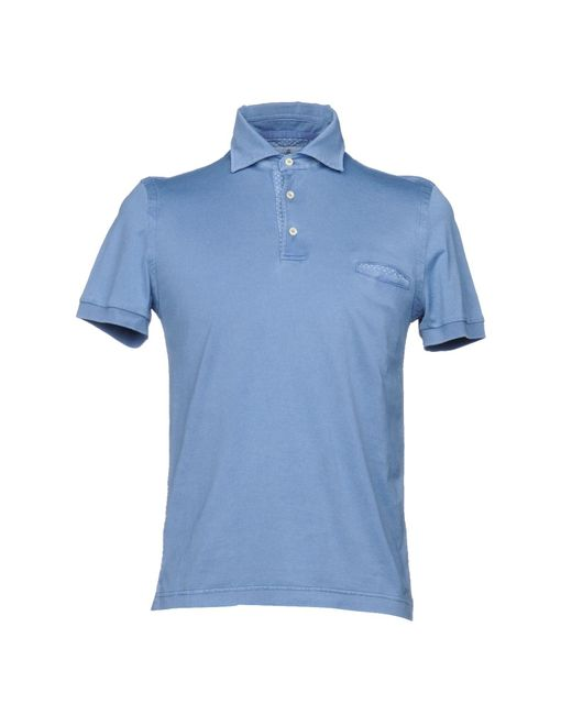 Della Ciana - Blue Polo Shirt for Men - Lyst