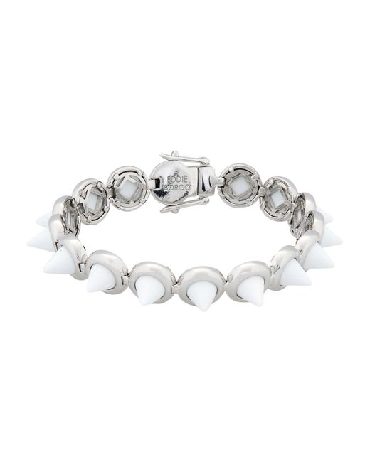 Eddie Borgo - White Bracelets - Lyst