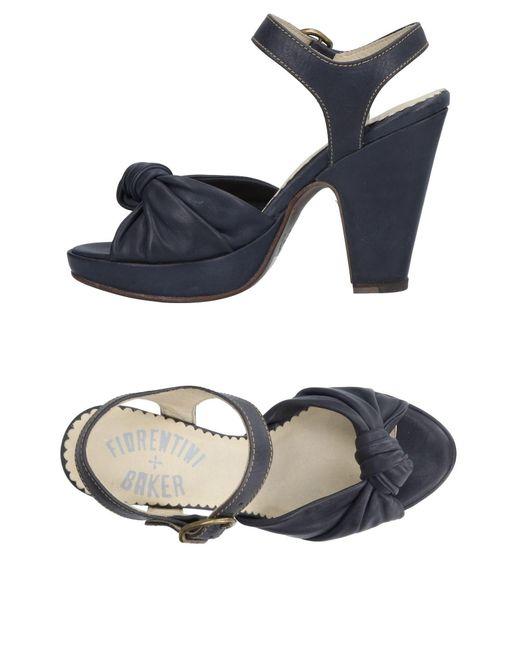 Fiorentini + Baker - Blue Sandals - Lyst