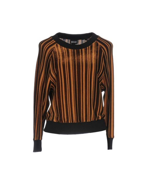 Just Cavalli - Brown Sweatshirt - Lyst