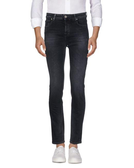 Michael Coal - Black Denim Pants for Men - Lyst