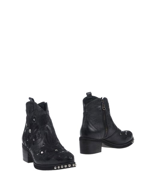 Divine Follie - Black Ankle Boots - Lyst