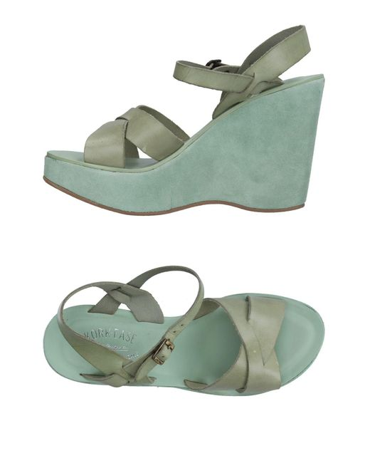 Kork-Ease - Green Sandals - Lyst