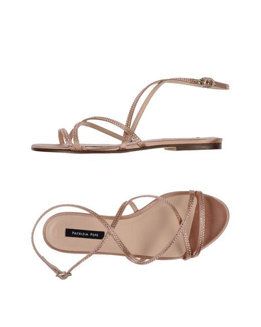 Patrizia Pepe - Pink Sandals - Lyst
