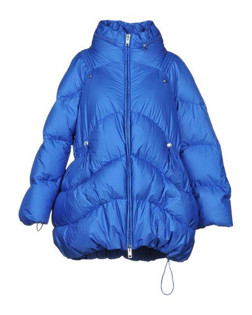 Ermanno Scervino - Blue Down Jacket - Lyst