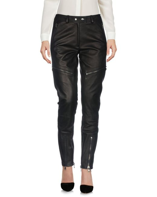 Moschino - Black Casual Trouser - Lyst