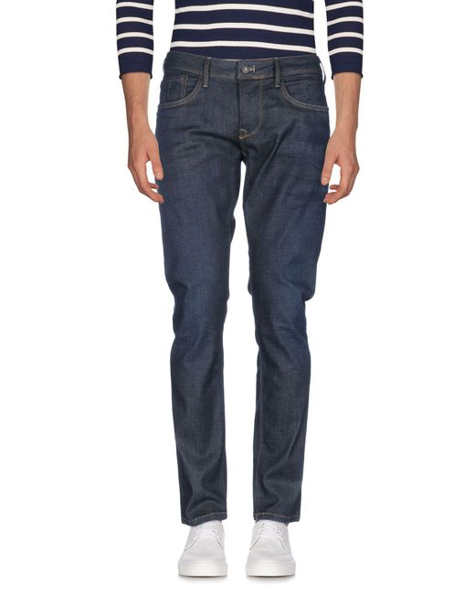 Pepe Jeans - Blue Denim Trousers for Men - Lyst