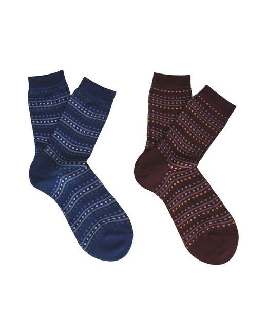 Falke - Blue Short Socks - Lyst