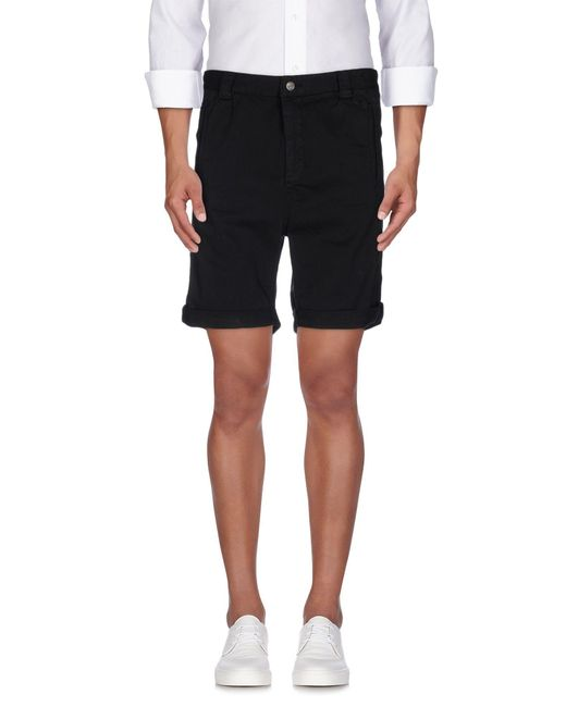 Journal | Black Bermuda Shorts for Men | Lyst