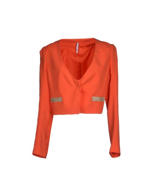 Imperial | Orange Blazer | Lyst