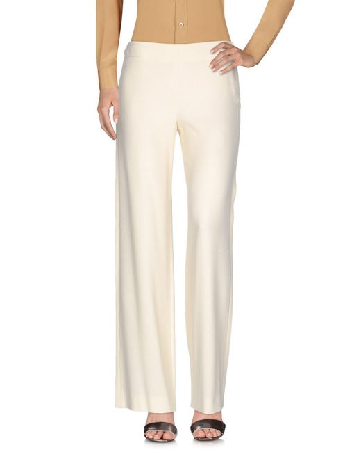 Helmut Lang   White Casual Trouser   Lyst