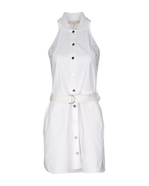 Vanessa Bruno | White Short Dress | Lyst