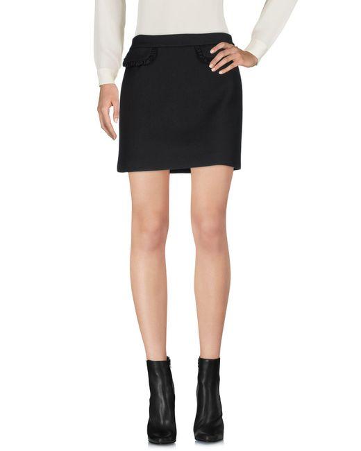 Paul & Joe - Black Mini Skirt - Lyst